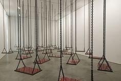 Arpeggia: Mona Hatoum - Suspended 2011 In Her Installation...