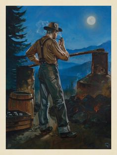 Anderson Design Group – American National Parks – Great Smoky Mountains National Park: Moonshiner
