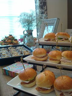 Bridal Shower food