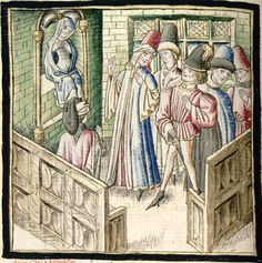 Cartonnier, Grenoble, Miniatures, Painting, 15th Century, Anonymous, Tapestry, Kleding, Painting Art