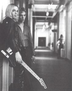 """Velvet Goldmine. The """"not"""" love story of Iggy Pop and David Bowie."""