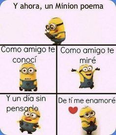 Best memes chistosos de amor y amistad Ideas New Memes, Love Memes, Minion Poemas, Minions, Classroom Humor, Funny Poems, Sad Movies, Disney Images, Teacher Memes