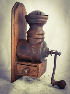 Coffee Grinder Wood Wall Mounted Mill Moulin a cafe Molinillo