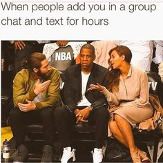 On group chats: | 28 Pictures That Prove There Are Other People Like You In The World