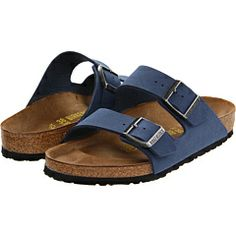 Birkenstock - Arizona - Birkibuc™ Heaven for my feet.  I know they don't look that good, but they sure feel good.