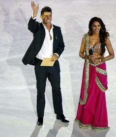 Rare Photos of Cristiano Ronaldo:    2007:   Cristiano Ronaldo and Bollywood actress Bipasha Basu attend the debut of the New Seven Wonders of the World at Luz stadium in Lisbon.