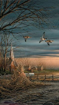 Country Neighbors by Terry Redlin