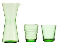 Ittala glassware Tumbler, Furniture Design, Sweet Home, Objects, Ceramics, Studio, Tableware, Glass, Green