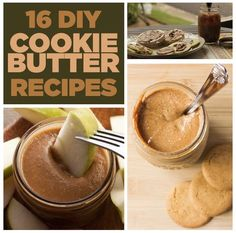 16 Homemade Cookie Butter Recipes To Get Your Fix - Leckere Rezepte - Tasty recipies - Homemade Cookie Butter, Butter Cookies Recipe, Homemade Cookies, What Is Cookie Butter, Speculoos Cookie Butter, Just Desserts, Delicious Desserts, Yummy Food, Tasty