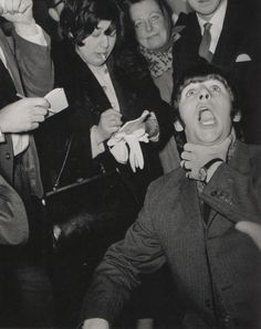 Ringo telling the news about his tonsils.