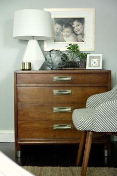 Robert Abbey Delta Table Lamp in Lily from Lamps Plus, featured on @Dana Miller