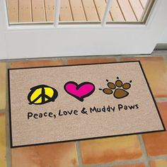 This Dog Themed Door Mat Is The Perfect Way To Welcome