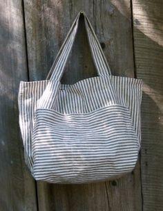 Organic cotton + Hemp Hobby Sac