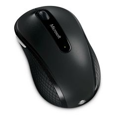Microsoft Wireless Mobile Mouse 4000 - Black (D5D-00001)