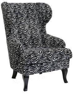 Wing chair Zebra - Kare Design
