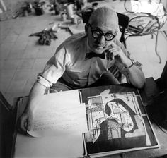The Bow Tie Crowd.  Le Corbusier