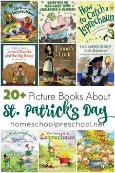 of the Best St Patricks Day Books for Kids of All Ages The luck of the Irish will be on your side with this amazing collection of St. Patrick's Day books for kids! March Book, Day Book, St Pattys, St Patricks Day, Toddler Books, Childrens Books, Luck Of The Irish, Book Themes, Read Aloud