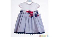 Vestido niña de Elisa Menuts - adrielsmoda.es