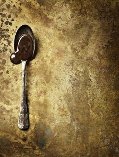 painterly, guilded, chocolate. Anders Schønnemann, photographer. #photography #food #styling