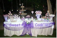 Mesa de dulces de mis amigas