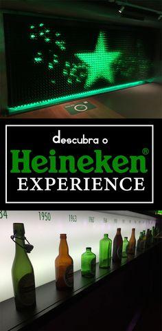 Conheça o Heineken Experience. O Museu da Heineken que vai muito além do clássico. Ponto turístico imperdível na Holanda e na Europa! Não deixe de visitar em Amsterdam.