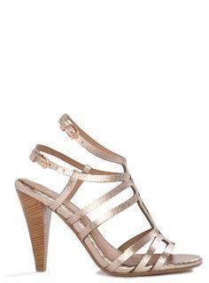 Clarks Delsie Risa Gold Metallic Leather Women S 1 2