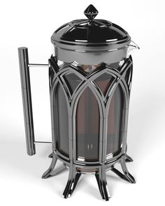Gothic French Press on Behance