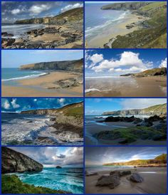 "Trebarwith Strand is located on the north coast of Cornwall, near Tintagel. The name Trebarwith belongs to a village in Tintagel parish. Trebarwith is mentioned in 1284, held from 1329 to the 1500s by the Lercedekne family. In Oct 1886, Trebarwith saw the shipwreck of the Sarah Anderson.  The setting of the beach has been used as a filming location. ""Saving Grace"" and ""Oscar and Lucinda"" both had scenes filmed here. As well, Trebarwith Strand is coastal Illyria in the 1996 ""Twelfth Night""."
