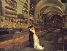 L'amore e la morte. Calcedonio Reina, 1881 Museo civico di Castell'Ursino, Catania