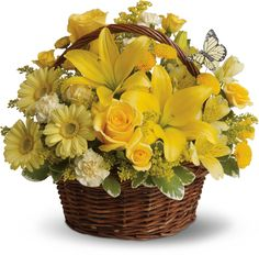 Basket Full of Wishes Save 25% on this bouquet and many others with coupon code TFMDAYOK1B2 Offer expires 05/14/2012.