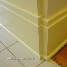 My Finish Carpentry Tips for Homeowners and Finish Carpenters