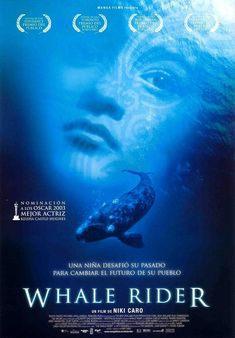 """Cover photo for the movie """"Whale Rider."""" About Maori, a young girl who has to prove to her grandfather that she is capable of fulfilling her destiny that only boys can do. Whale Rider, O Drama, Cover Photos, Movies To Watch, I Movie, Discovery, Movie Posters, Animals, Amelia"""
