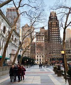 New-York New-York City.fr J'aime toujours aller à Brayant Park