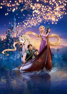 Tangled Rapunzel | Tangled / Rapunzel - Pascal, Rapunzel, Flynn Rider (Eugene Fitzherbert ...