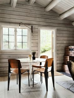 Charming Norwegian-style Log Cabin Packed with Iconic Design Pieces
