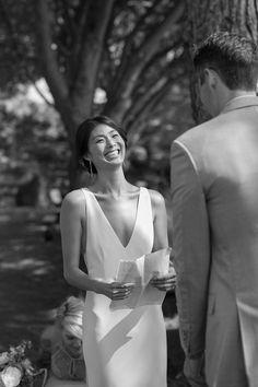 reading wedding vows
