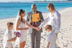 Special Island Beach Wedding #beachwedding #Islandwedding