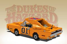 Lego General lee Dukes