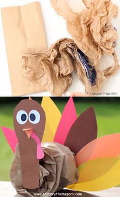 Turkey Craft: Stuffed Turkey Thanksgiving Craft Have your kids use the printable templates and paper lunch sack to make this adorable stuffed turkey craft. They make the cutest Thanksgiving table decorations for school or home! Thanksgiving Activities For Kids, Thanksgiving Crafts For Kids, Holiday Crafts, Fun Crafts, Thanksgiving Table, Turkey Crafts For Preschool, Diy Turkey Crafts, Kindergarten Thanksgiving Crafts, Kids Fall Crafts
