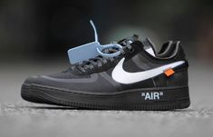 online retailer fbb70 43290 Off-White Nike Air Force 1 Black AO4606-001 Release Date