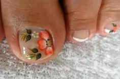 Toenails, Flower Nails, Nail Art, Toe Nail Designs, Nail Bling, Nail Ideas, Designed Nails, Gorgeous Nails, Fairy
