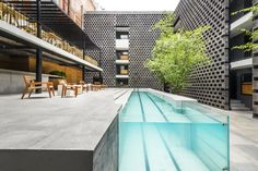 Hotel Carlotta Modern Home in Mexico City, Mexico City, Mexico by JSa… on Dwell