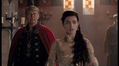 Morgana in 2x06 #BonusUther #BonusHalfArthur
