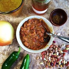casa de la Cargill~ life in the cul de sac: Honey Hot Ranch Beans