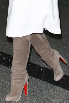 Christian Louboutin Vicky Botta 120 Suede Boots