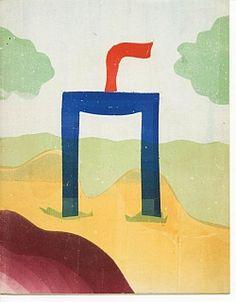Bij het graf van den Nederlandschen onbekenden soldaat gevallen in de Meidagen 1940. WERKMAN, H.N. [Groningen], (De Blauwe Schuit [= H.N. Werkman en F.R.A. Henkels], 1942). Stuart Davis, Kurt Schwitters, Avant Garde Artists, Dutch Painters, Dutch Artists, Ephemera, Fabric Design, Composition, Poster Prints