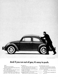 If you watch Mad Men you've surely heard about the 1960s #Volkswagen #campaign. Here's your chance to see some of the #ads yourself