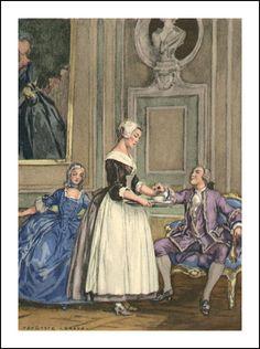 Mémoires de Casanova. Ill. Auguste Leroux. Part 1. - Book Graphics