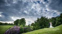 After the storm, Shrigley Hall Hotel summer wedding