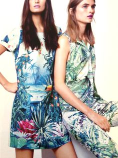 Cotery Current Obsession: Tropical Prints Via: Helen Dean Regent Tweet 2013 Entry